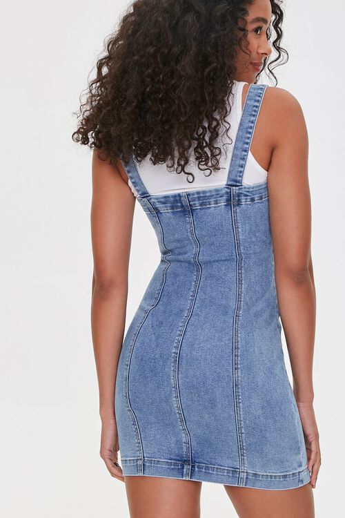 Denim Overall Dress, image 3