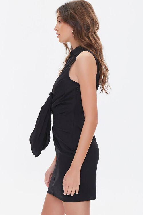 Sleeveless Bow Shirt Dress, image 2