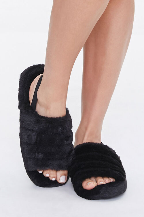 Plush Tiered Slippers, image 4