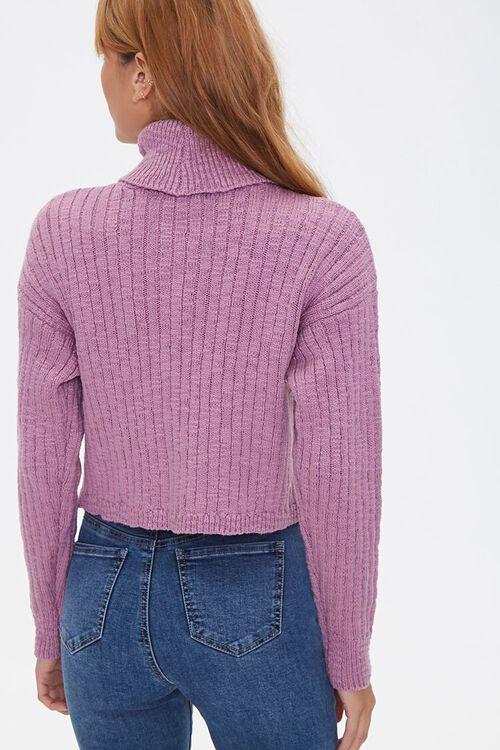 LILAC Ribbed Turtleneck Sweater, image 3