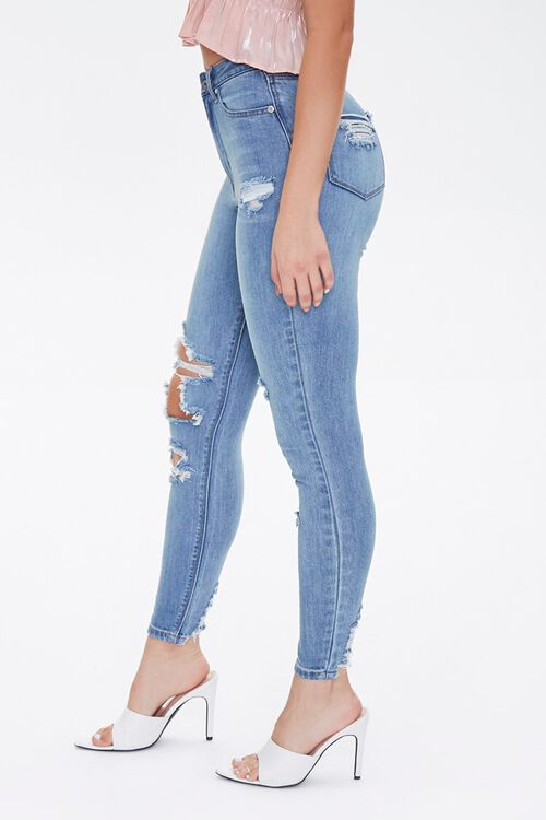 MEDIUM DENIM Curvy Fit High-Rise Jeans, image 3