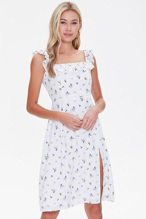 Butterfly Print Dress, image 1