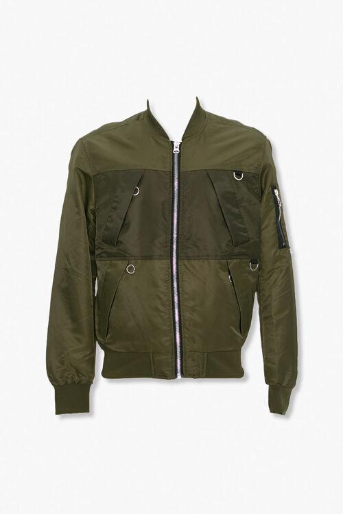 Zip-Up Bomber Jacket, image 1