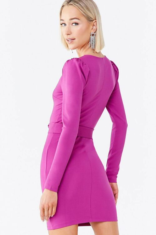 O-Ring Belt Mini Dress, image 3