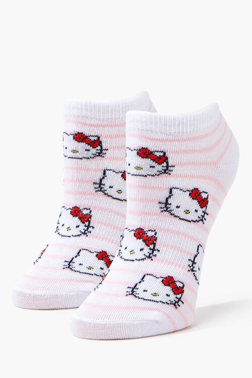 Girls Hello Kitty Ankle Socks (Kids), image 1