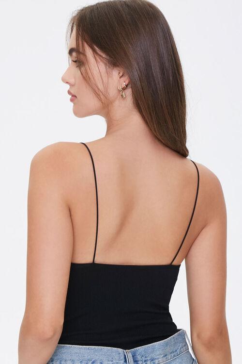 Ribbed Scoop-Cut Bodysuit, image 3