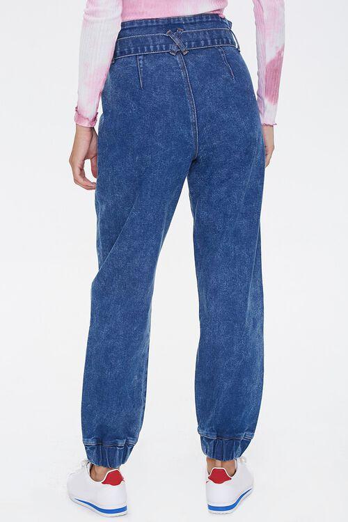 MEDIUM DENIM Paperbag Jogger Jeans, image 4