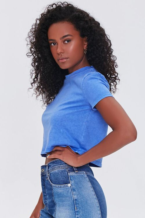 Cropped Mineral Wash Tee, image 2