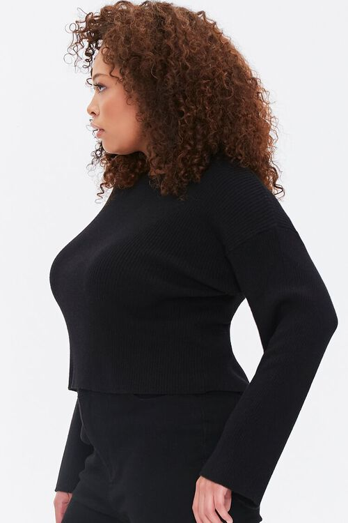 Plus Size Bell-Sleeve Sweater, image 2