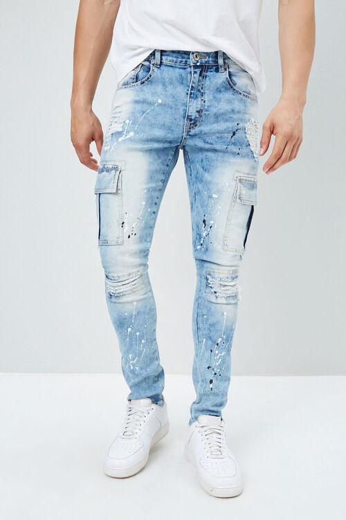 Paint Splatter Skinny Jeans, image 2