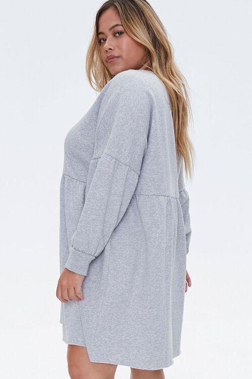 Plus Size Shirred Mini Dress, image 2