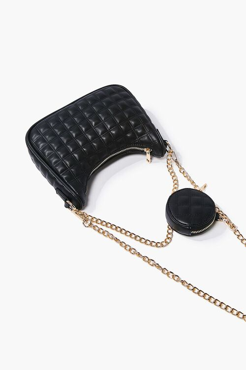 Quilted Chain-Strap Bag, image 2