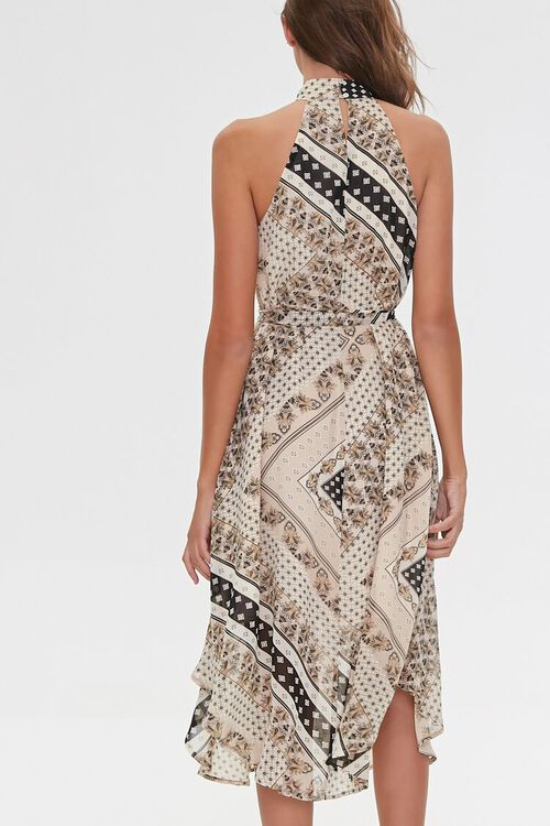 Ornate Patchwork Print Dress, image 4
