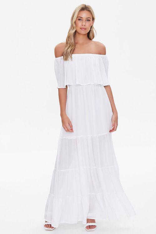 Off-the-Shoulder Maxi Dress, image 1