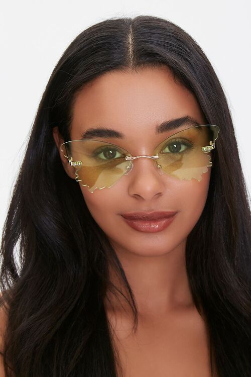 Butterfly Wing Sunglasses, image 1