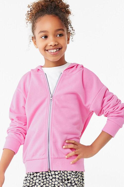 Girls Zip-Up Hoodie (Kids), image 1