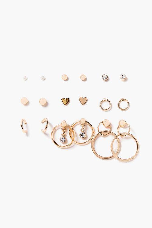 Assorted Stud Earring Set, image 1