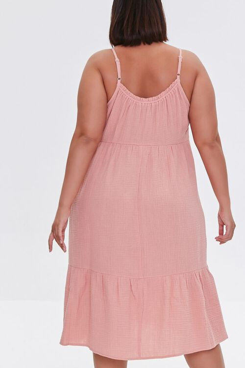 Plus Size Tiered Cami Dress, image 3