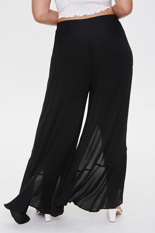 Plus Size Split-Leg Pants, image 4