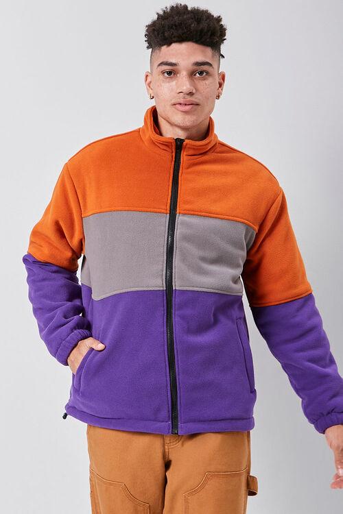 Fleece Colorblock Jacket, image 5