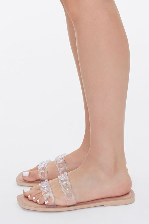 Clear Chain-Strap Sandals, image 2