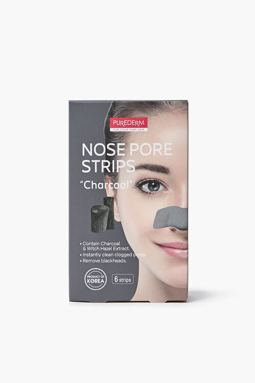 CHARCOAL Purederm Charcoal Nose Pore Strips, image 1
