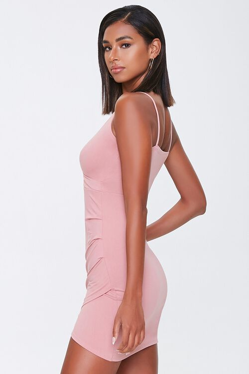 Surplice Mini Bodycon Dress, image 2