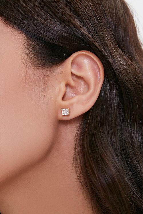 Faux Gem Charm Necklace & Earring Set, image 3