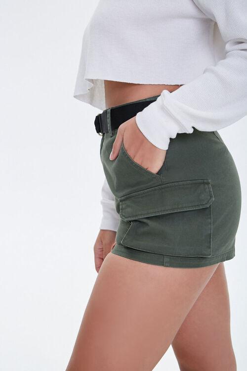 Twill Cargo Shorts, image 2