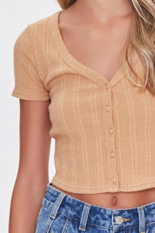 Short-Sleeve Cropped Cardigan, image 5