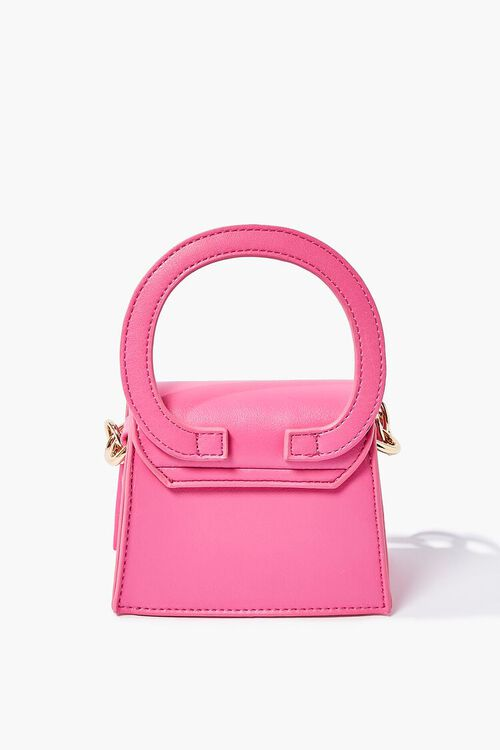 PINK Chain-Strap Structured Crossbody Bag, image 3