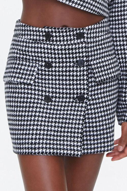 Houndstooth Mini Skirt, image 2