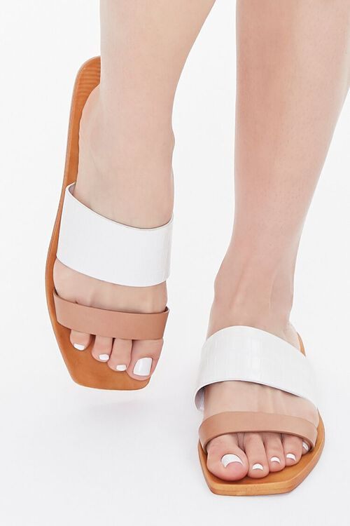 Square Dual-Strap Sandals, image 4