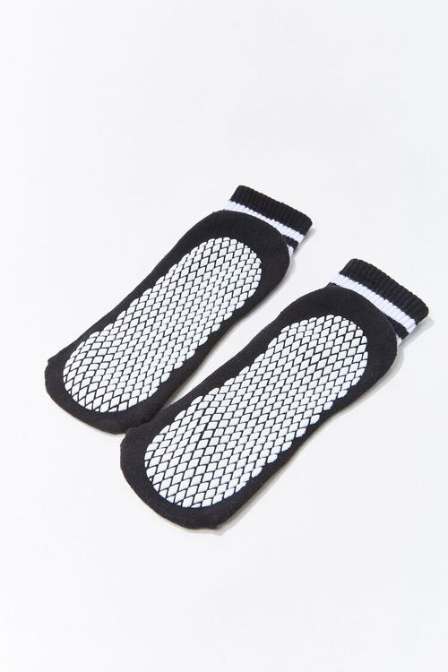 Varsity-Striped Ankle Socks, image 2