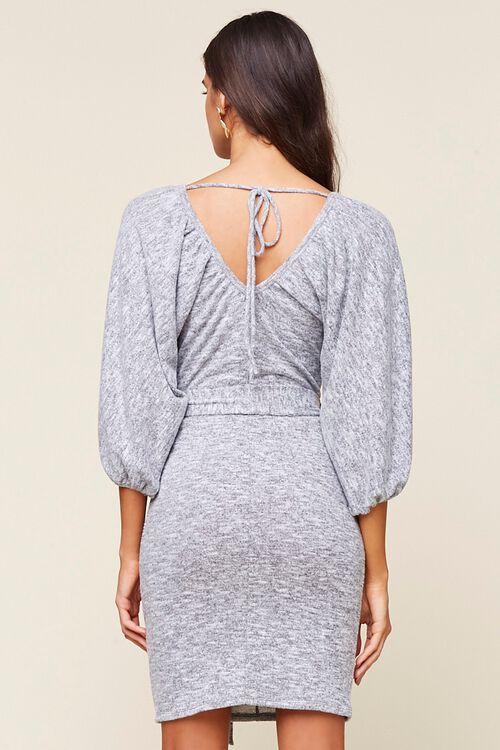 Marled Sweater Dress, image 3
