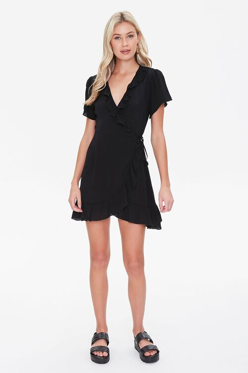 Ruffled Wrap Dress, image 4
