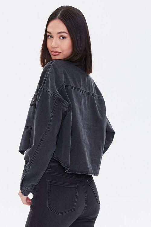 Drop-Sleeve Denim Shirt, image 2