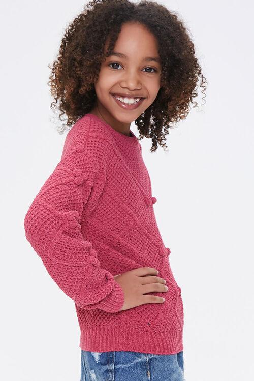 Girls Pom Pom Sweater (Kids), image 2
