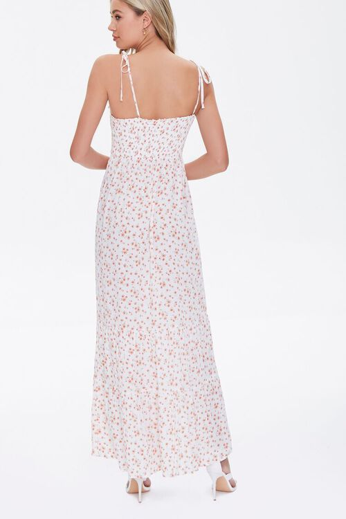 Floral Print Self-Tie Maxi Dress, image 4