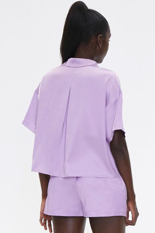 Satin Shirt & Shorts Set, image 3