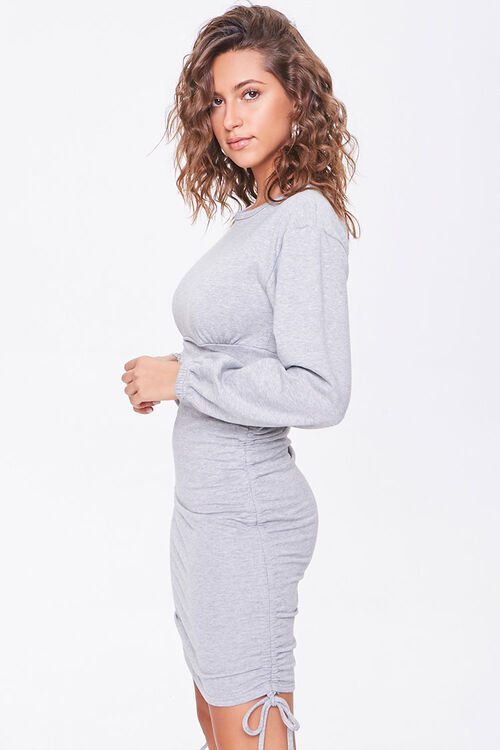 Ruched Mini Dress, image 2