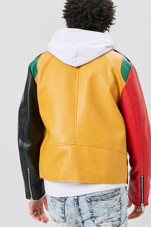 Colorblock Moto Jacket, image 4