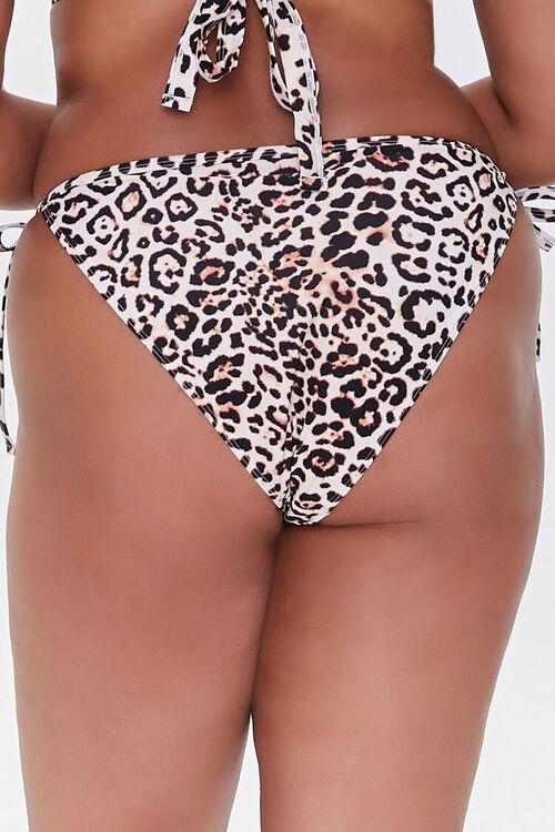 Plus Size Leopard Bikini Bottoms, image 4
