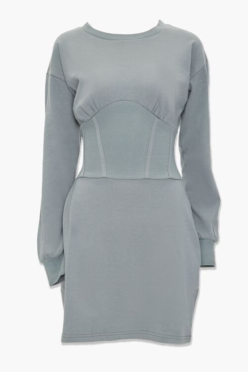 SAGE Fleece Knit Mini Dress, image 1