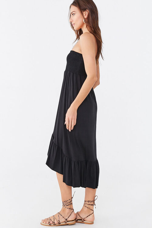 Ruffle-Trim High-Low Dress, image 2
