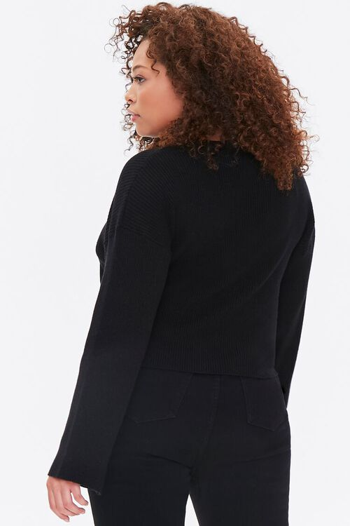 Plus Size Bell-Sleeve Sweater, image 3