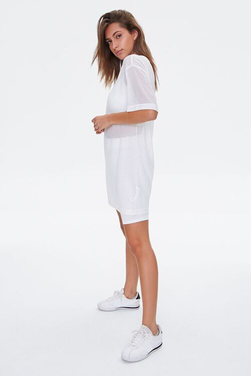 Shadow-Striped T-Shirt Dress, image 4