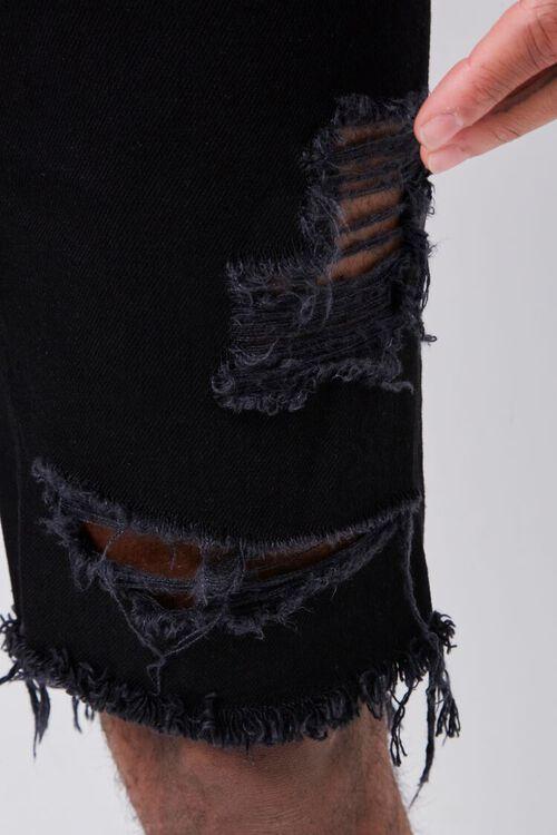 Distressed Denim Shorts, image 6