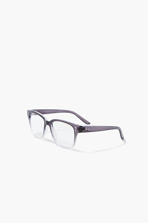 Blue Light Square Reader Glasses, image 2