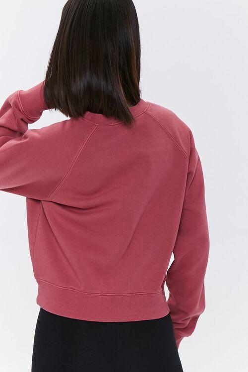 Fleece Raglan Sweatshirt, image 3